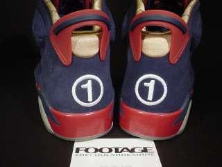 Nike Air Jordan III 3 IV 4 VI 6 Retro DB DOERNBECHER SET RED NAVY BLUE