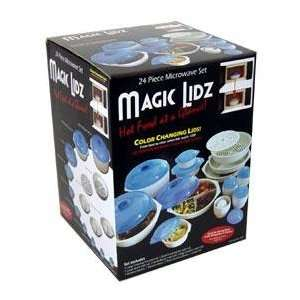 Magic Lidz Microwave Cookware 24 pc. (As Seen On TV) Kitchen & Dining