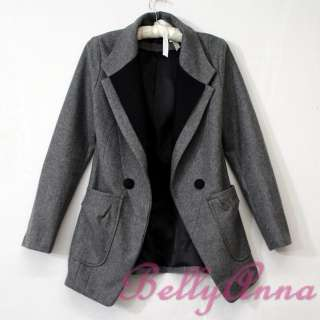 High Quality Wool Blazer Jacket Suit Coat Outwear Free Post
