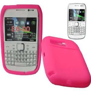 Mobile Palace  Pink silicone skin case cover pouch with