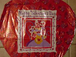 18 Happy Valentines Day Mylar Balloon