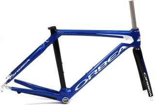 2009 ORBEA ONIX 54cm Road Bike Frameset Full Carbon W/Fork Blue NEW