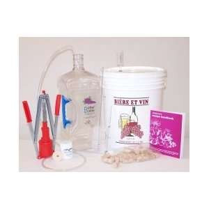 Gallon Wine Making Kit   Equipment Only  Kitchen