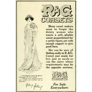 1911 Ad R G Womens Fashion Corsets Mildred Holland
