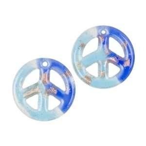 Cousin Jewelry Basics 2 Piece Glass Accent, 2 Tone, Blue
