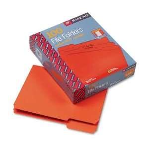 Smead Products   Smead   File Folders, 1/3 Cut, Top Tab