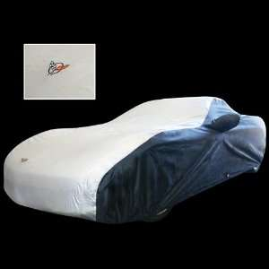 Corvette Car Cover   Two Tone C5 Embroidered Logo Red