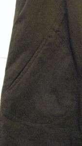 Tory Burch LOGO BUTTON GARRETT DRESS BROWN 10 $295 NWT