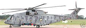 Agusta Westland AW 101 Merlin Helicopter Wood Model FS