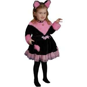Kitty Kat Dress Child Halloween Costume Size 2T Toddler Toys & Games