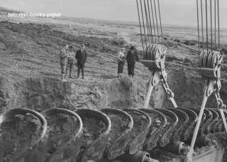Gold Mine Dredge Buckets near Nome Alaska photo 1938