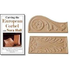 Nora Hall Package DVD No. 5 Carving the European Corbel (The Nora