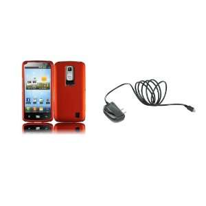 LG Spectrum (Verizon) Premium Combo Pack   Orange Hard