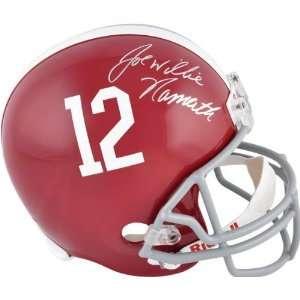 Joe Willie Namath Autographed Helmet  Details Alabama Crimson Tide