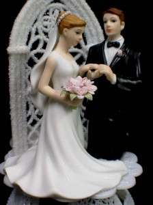 God bless this marriage christian Unity Bride Groom Wedding cake