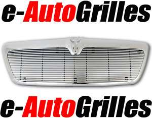 03 06 Lincoln Navigator Chrome 4mm Billet Grille+Shell