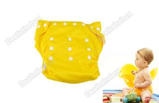 Adjustable Baby Cloth Diaper Nappy + 7PCS Inserts