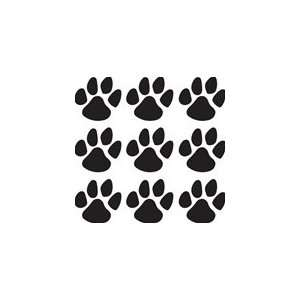 Paw Prints decal 9 4 decal great for wall or car
