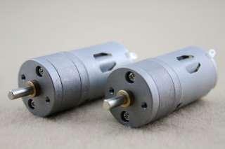 12V DC 1000RPM Mini Torque Gear Box Motor Hobby