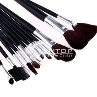 style Professional Makeup Cosmetic Brush set Kit Case