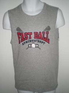 Muscle Tee Shirt Boys XXL 18 Gray Shooter Tank Top NWT