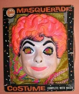 1960s Halco LUCILLE BALL Halloween Costume   I LOVE LUCY   Scarce