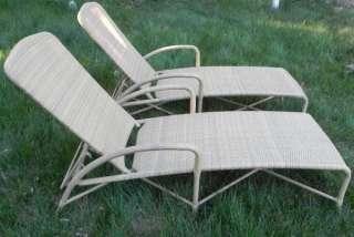 PCS Beautiful Brown Jordan Patio Furniture Chairs Lounge Chairs