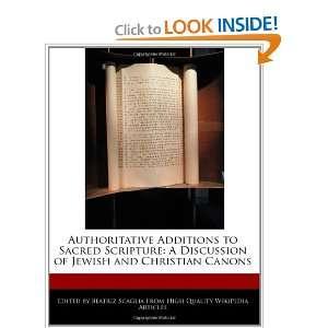 of Jewish and Christian Canons (9781240403332) Beatriz Scaglia Books