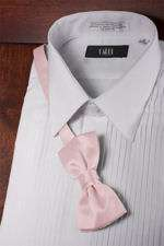 Luxury Satin Bow Tie   Pink