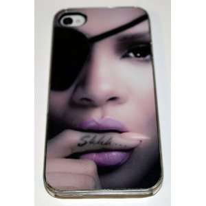 Clear Hard Plastic Case Custom Designed iPhone Case for iPhone 4 or 4s