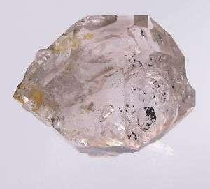 HERKIMER DIAMOND QUARTZ CRYSTAL 49MM SMOKEY ENHYDRO NY