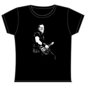 Womens T shirt James Hetfield Metallica 8 10 12 14 16