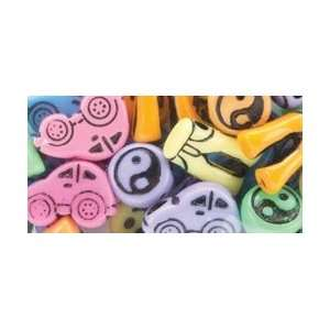 Pony Beads Multi Shape Beads; 6 Items/Order: Arts, Crafts & Sewing