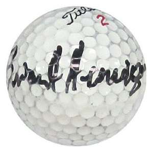 Brian Henninger Autographed / Signed Golf Ball Everything