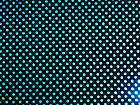SPANDEX DISCO DOTS STRETCH BLACK/SILVER SEQUINS