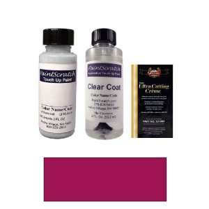 2 Oz. Medium Garnet Red Metallic Paint Bottle Kit for 1988