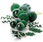 COLIN COWIE 55 PIECE CHRISTMAS ORNAMENT SET GIFT BOX ~ EMERALD GREEN