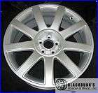 02 04 05 06 AUDI TT 18 5X100MM HYPERSILVER 9 SPOKE WHEEL OEM FACTORY