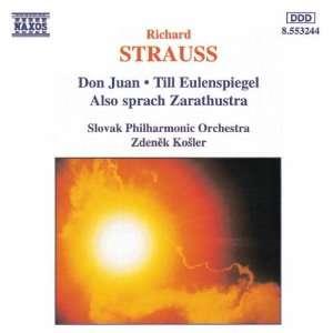 Strauss Don Juan; Till Eulenspiegel; Also sprach Zarathustra