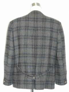 BROWN TWEED WOOL German Hunting Suit Jacket/56/46 48 XL