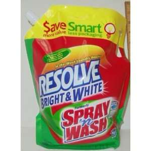 Resolve Bright & White In The Wash Laundry Booster, Standard / High