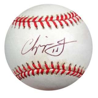 Chipper Jones Autographed Signed NL Baseball PSA/DNA #P30025