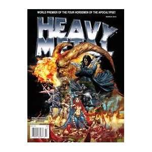 Heavy Metal March 2012 Various Books