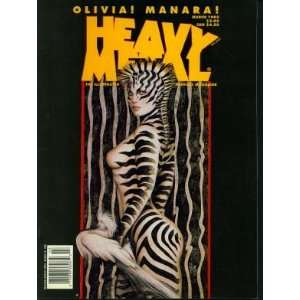 Heavy Metal  The Illustrated Fantasy Magazine, March 1995