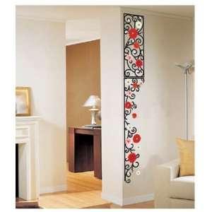 FLOWER FRAME WALL ART DECOR Mural Decal STICKER(SS58211