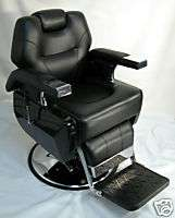 ASCOT MANVILLE BARBER CHAIR, 1 YEAR WARRANTY
