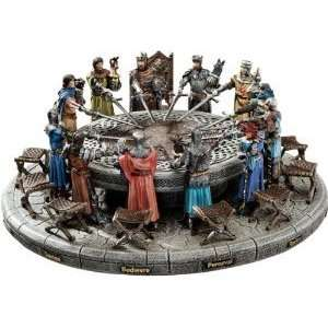 Xoticbrands 5 Medieval King Arthur And Knights Of Round Table Statue