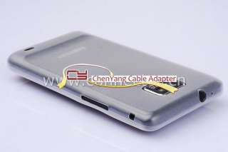 White clear ULTRA THIN 0.3mm COVER FOR SAMSUNG GALAXY S2 SII i9100