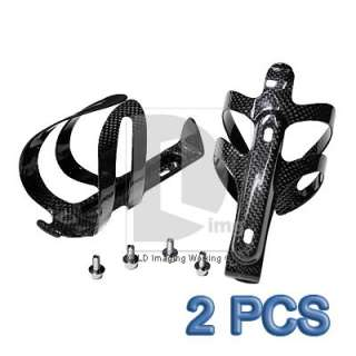 2x Carbon Fiber Drink CYCLE Bottle Holder Cage DB902 for Bicycle MTB