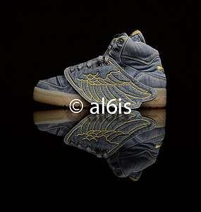 Adidas Jeremy Scott JS Wings V24621 Leopard Denim Bear Womens + Mens